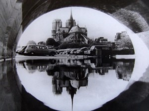 Paris- Notre Dame and reflection