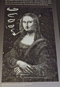 Paris- early surrealist take on Mona Lisa