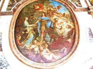 Paris- typical Versailles ceiling